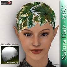 Natura Hair - MSC 3D Figure Essentials 3Dream