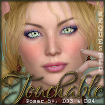 Touchable Aurillac Themed Hair -Wolfie-