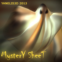 Y3D Mystery Sheet 3D Models 3D Lighting : Cameras Yanelis3D