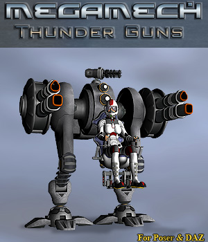 Thunder Guns Props/Scenes/Architecture Themed Transportation Simon-3D