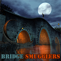Bridge Smugglers Props/Scenes/Architecture Themed 1971s