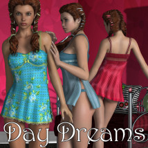 Day Dreams 3D Figure Essentials 3D Models JudibugDesigns