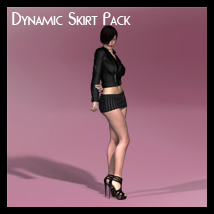 Dynamic Skirt Pack 3D Figure Essentials Fugazi1968