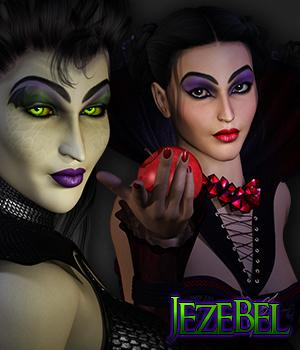 SWD Jezebel Software Themed Characters Silverwind-Designs