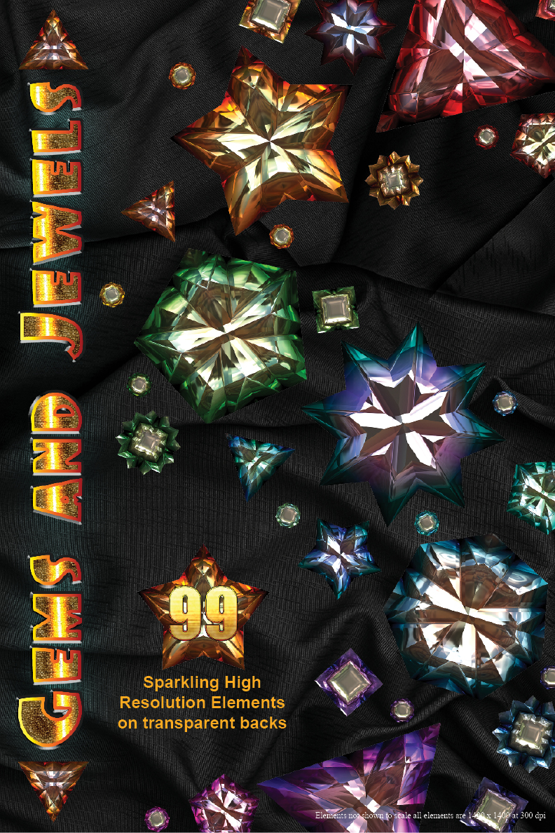 Gems and Jewels special effects elements