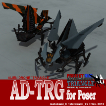 AD-TRG for Poser Stand Alone Figures Themed motokamishii
