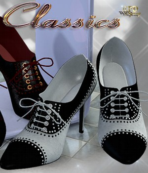 Teacher's Shoes - Classics 3D Figure Essentials renapd