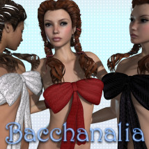 Bacchanalia 3D Figure Essentials 3D Models JudibugDesigns