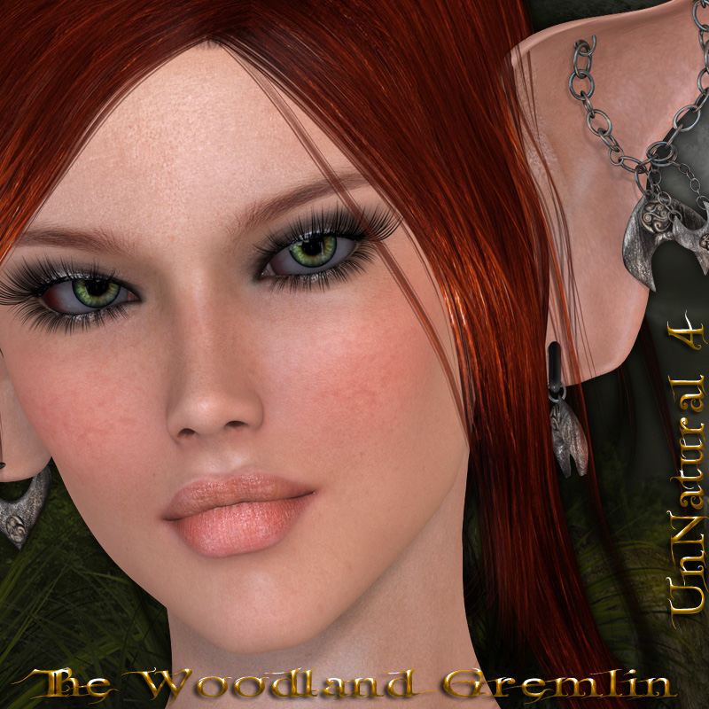 UnNatural 4 - Woodland Gremlin  -  Morphs & Accessories V4