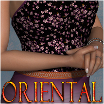 Oriental for Merikano Clothing Themed OziChick