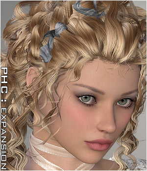 PHC : Crazy Locks Themed Hair P3D-Art
