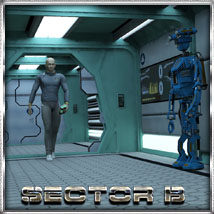 Ship Elements B1: Hallway Construction Set Props/Scenes/Architecture Themed Software 3-d-c