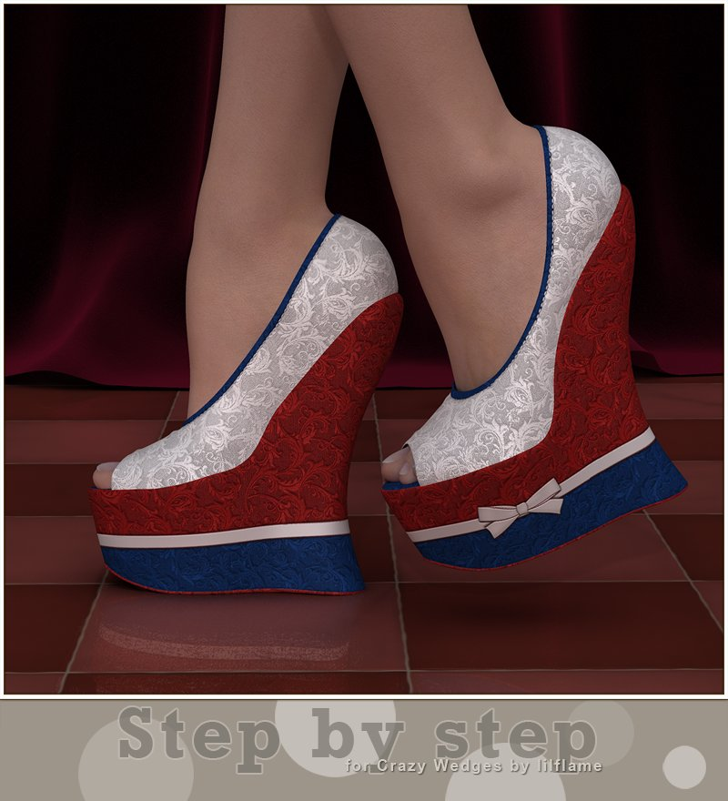Step by Step: Crazy Wedges