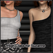 High Class for Suzanne 3D Figure Essentials 3D Models FrozenStar