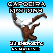 Capoeira Motions 3D Figure Essentials ka06059