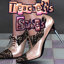 NYC Collection: Teacher's Shoes 3D Figure Essentials 3DSublimeProductions