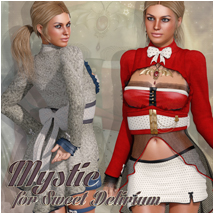 Mystic for Sweet Delirium Clothing Atenais