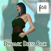Dynamic Dress Pack 3D Figure Essentials Fugazi1968