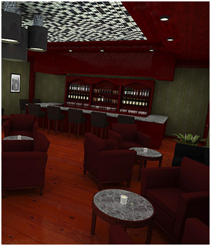 Lounge Bar  3D Models RPublishing