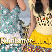 Radiance for Summer Breeze 3D Models 3D Figure Essentials FrozenStar