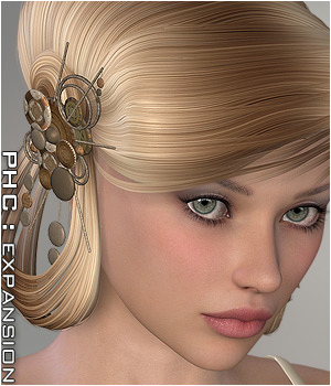 PHC : The Artist's Hair Accessories Themed P3D-Art