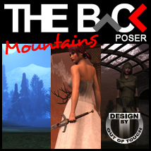 THE BACK Mountains - POSER 3D Models Software outoftouch