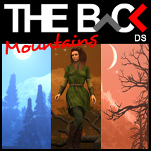 THE BACK Mountains - DAZ Studio 3D Models Software outoftouch