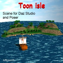 Toon isle 3D Models JeffersonAF