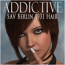 Addictive Berlin 3D Figure Essentials 3D Models OziChick