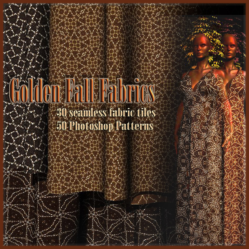 Golden Fall Fabrics