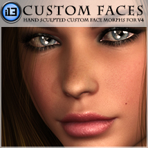 i13 Custom Faces Morphs/Deformers Software ironman13