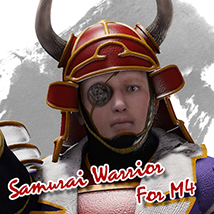 Samurai Warrior for M4 3D Figure Assets JerryJang