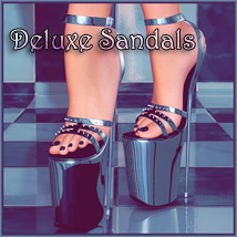 Deluxe Sandals 3D Figure Essentials SynfulMindz