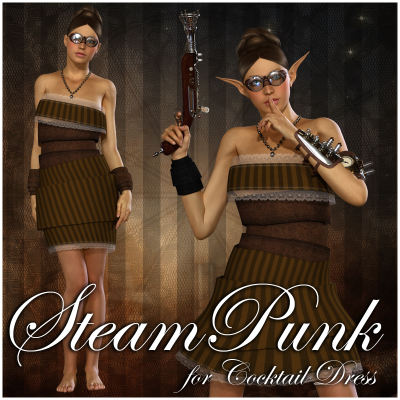 Steam Passion for Cocktail Dress