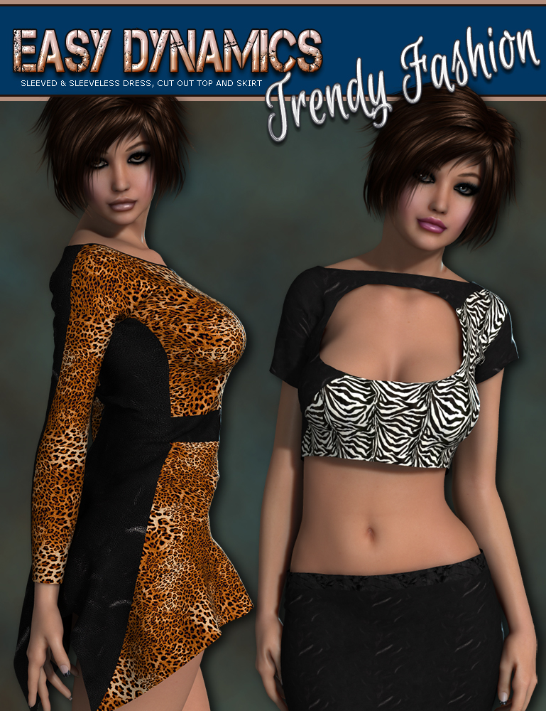i13-3DS TrendyFashion Dynamic Clothing by 3DSublimeProductions