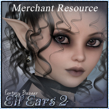 SV7 Fantasy Bazaar - Elf Ears 2 3D Models 3D Figure Essentials Seven