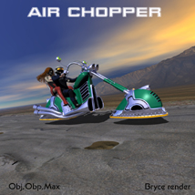 air chopper 3D Models kanaa