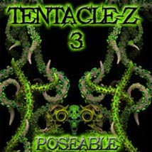 TentacleZ 3 Posable Themed Animals Poisen