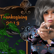 Thanksgiving 2013 2D 3D Models WhopperNnoonWalker-