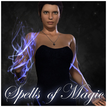 Spells of Magic V4 3D Figure Assets 3D Models jonnte