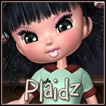 Plaidz: School Girl for Cookie 3D Figure Essentials BitterSweet