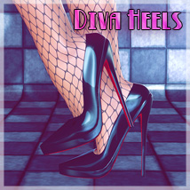 Diva Heels 3D Figure Essentials SynfulMindz