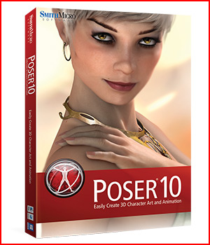 Poser 10 3D Software : Poser : Daz Studio Poser Software : Smith Micro Smith_Micro