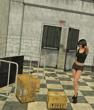Warehouse Hallway 3D Models Imaginary_House
