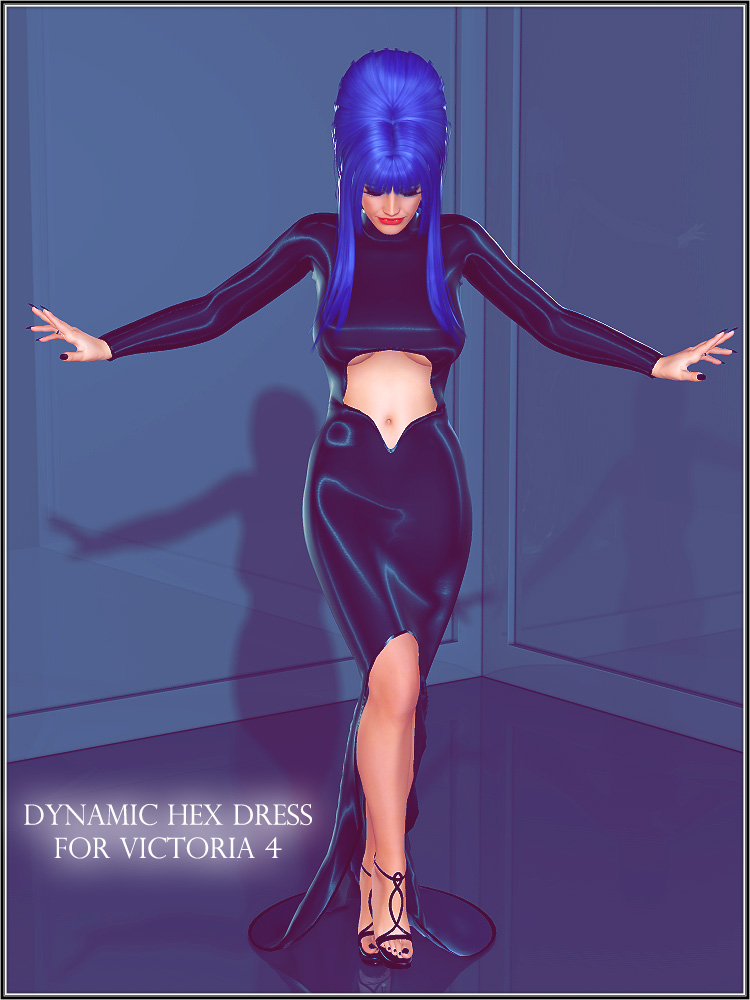 Dynamic Hex Dress