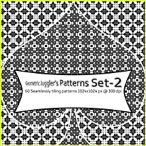 Geometric Juggler s Patterns Set-2 2D RajRaja