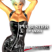 V4 PVC BUSTIER Clothing Hair Accessories Footwear billy-t