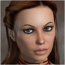 Audrie for V4 and Genesis 3D Figure Assets 3D Models OziChick