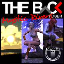 THE BACK Mystic Rivers - POSER 3D Models Software outoftouch