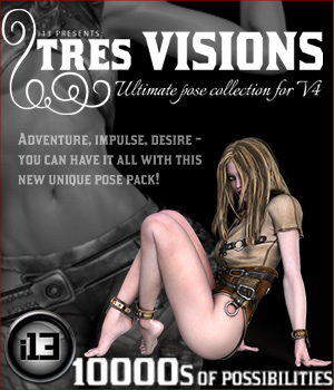 i13 tres VISIONS Themed Software Poses/Expressions ironman13